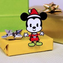 Muñeco navideño de Mickey Mouse