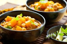 Pumpkin, spinach and chickpea curry  via MyFamily.kiwi