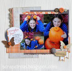 Pumpkin Fun *Elle's Studio* - Scrapbook.com