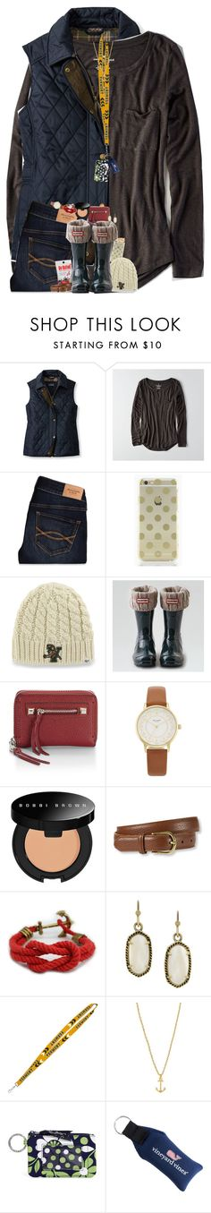 """So happy to be back at school, not so happy to be back at work"" by teamboby ❤ liked on Polyvore featuring L.L.Bean, American Eagle Outfitters, Abercrombie & Fitch, Kate Spade, Bobbi Brown Cosmetics, Kendra Scott, Vera Bradley, Vineyard Vines and teambobylife"