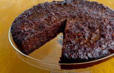 Trinidad Black Cake has dried and glacé fruit and peel in it, but don't dare call it a fruitcake. Black cake traces its roots to British plum pudding, with additional historical notes in the rum and molasses that flavour and colour it. Food Cakes, Fruit Cakes, Carrot Cakes, Baking Cakes, Biscuits, Cherry Brandy, Caramelized Sugar, Spice Cake, Stick Of Butter