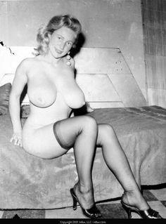 Slender nude dark women