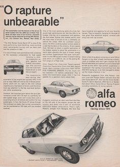 """1965 Alfa Romeo - """"O rapture"""" - Giulia Sprint"""