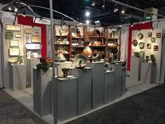 Holman Pottery at the 2013 Buyers Market of American Craft. www.americanmadeshow.com