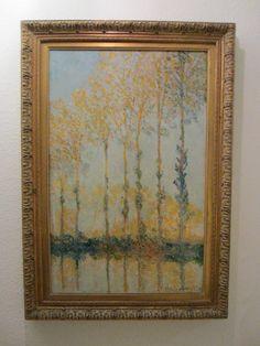 Claude Monet Impressionist Landscape Panel Lithograph – Designer Unique Finds