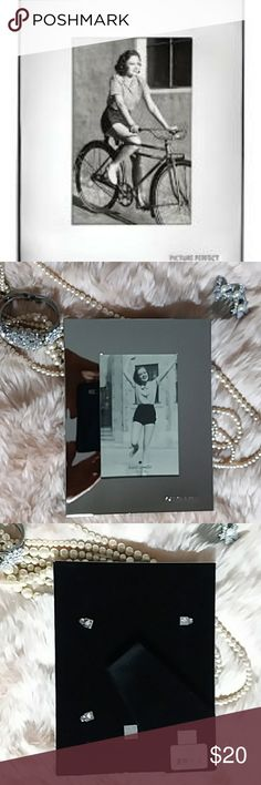 Bought In Japan Marble Silver Picture Frame Silver Picture