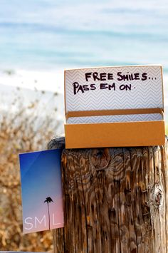 Free Smiles :)  @SWELL