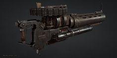 ArtStation - Thermite Gun, Hisae 'Jo' Watanabe