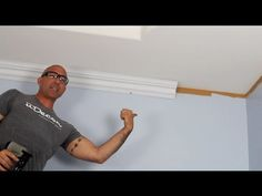 How to install crown molding - YouTube