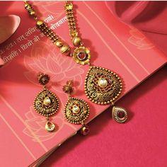 Gold Jewelry In Nepal Jewelry Clasps, Beaded Jewelry, Beaded Necklace, Bridal Necklace, Wedding Jewelry, Gold Jewelry Simple, Simple Necklace, Gold Jewellery Design, Diamond Jewellery