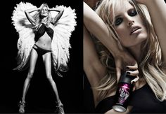 Even angels will fall, Karolina Kurkova for Axe Excite Ad Campaign