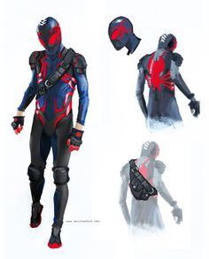 Anjin Anhut's Spider-Man redesign. I really love this.