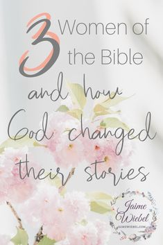 3 Women of the Bible and How God Changed their stories. Children are a gift from God beyond anything we can compare. They are Image bearers of the Creator of the World and a great way to get glimpses of His heart Christian Women, Christian Living, Christian Faith, Women Of Faith, Faith In God, Seeking God, Christian Parenting, Bible Verses, Scriptures