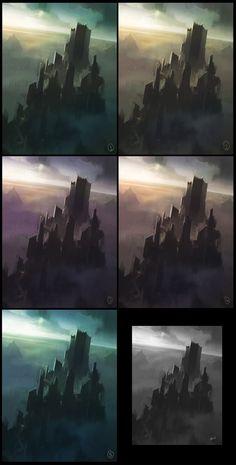 Tower colors by jamajurabaev