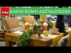 Karácsonyi asztaldíszek | Kika Magyarország - YouTube Table Decorations, Youtube, Furniture, Home Decor, Decoration Home, Room Decor, Home Furnishings, Home Interior Design, Youtubers