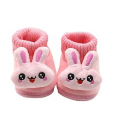 >> Click to Buy << Hot Autumn Winter Baby Boys Girls First Walkers Toddler Shoes Cuffs 3D Cartoon Big Eyes Rabbit Infant Warm Shoes 2017 #Affiliate