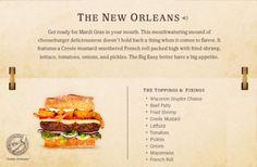37. The New Orleans Cheeseburger Recipe | 40 Mouth-Watering American Hamburger Recipes Everyone Loves