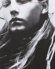"lavandula: "" angela lindvall shot by david sims for jil sander "" Angela Lindvall, Portrait Photography, Fashion Photography, Carl Zeiss Jena, David Sims, Paolo Roversi, Lavandula, Photo B, Jil Sander"
