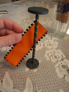 Dollhouse Decorating!: dollhouse furniture / Make a floor lamp tutorial