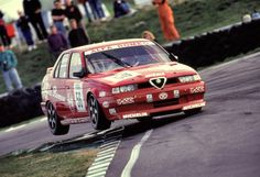 Alfa 155 British Touring Car - from 1994 season.  This was when the BTCC was exciting and these were racing against the Volvo 850's - crazy stuff.
