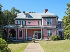 Pink House Color Schemes
