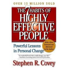 The Seven Habits of Highly Effective People is a well-known personal development book that continues to be a bestseller. Stephen Covey presents 7 habits to incorporate into your life to enhance your ability to approach and solve personal and professional problems.