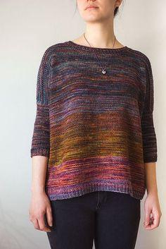 Knitting Machine Patterns, Yarn Inspiration, Hand Knitted Sweaters, Knitting For Beginners, Hand Dyed Yarn, Knitting Projects, Lana, Hand Knitting, Knitwear
