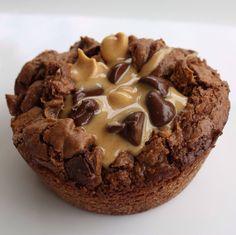 Chocolate Peanut Butter Cupcake