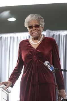 In Honor Of Maya Angelou  Maya Angelou speaks during the AARP Magazine's 2011 Inspire Awards in Washington, D.C.