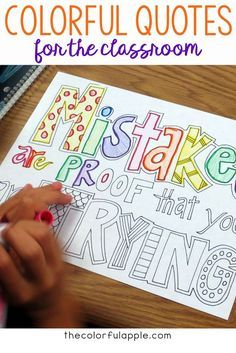 Quotes A great back to school idea for upper elementary students!A great back to school idea for upper elementary students! 1st Day Of School, Beginning Of The School Year, High School, Back To School Art, Back To School Images, Back To School Bulletin Boards, Back To School Night, Art School, Back To School Activities