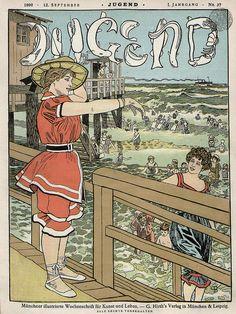 September 12, 1896 Jugend Magazine