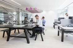 Realys has developed a new design for their own design consultancy located in London.