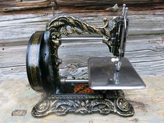 "1870's Newton Wilson ""Princess of Wales"" Sewing Machine Fully Working Condition 