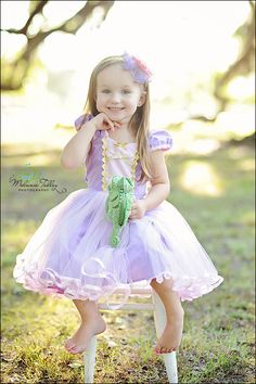 RAPUNZEL dress  TUTU dress costume for toddlers and girls fun for special occasion or birthday party costume on Etsy, $58.00