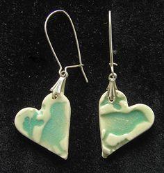 Bird Heart Earrings