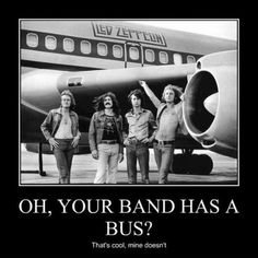 So Your Band has a Tour Bus?