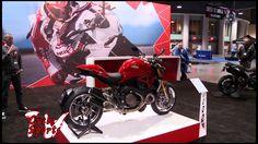 New 2014 Ducati Monster 1200S at Progressive International Motorcycle show