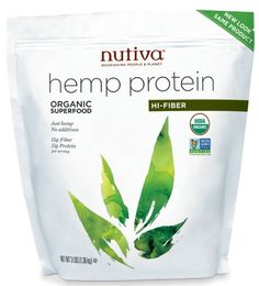 Nutiva Organic Hemp Protein is a plant-powered protein that is easy to digest and contains amino acids that are vital for good health. Add protein, fiber, essential fatty acids, magnesium, zinc and iron to your diet with Nutiva Hemp Protein Organic Protein, Organic Superfoods, Ideal Protein, Organic Smoothies, Natural Protein, Lava, Hemp Protein Powder, Healthy Fiber, Organic Hemp Seeds