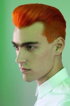 #orangehair # haircolor