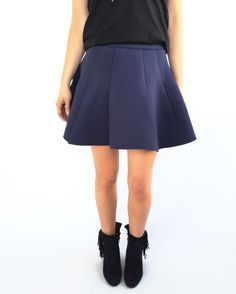 Navy Spirit Skirt – Milk & Honey Boutique - Online Women's Clothing Boutique