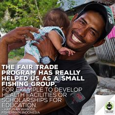 With #FairTrade, Hayunan can provide a better future for his family. Show your support for Hayunan TODAY by purchasing Fair Trade #seafood AND enter to #win $50 (win-win!): http://fairtrd.us/1Jz6GNn ‪#‎FairSeafood‬ #giveaway #contest #fish @safeway #supplychain