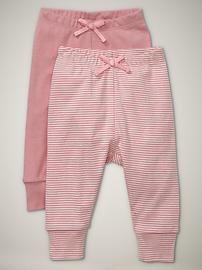 Baby Girls' Pants: organic knit pants, corduroy pants, leggings at babyGap   Gap