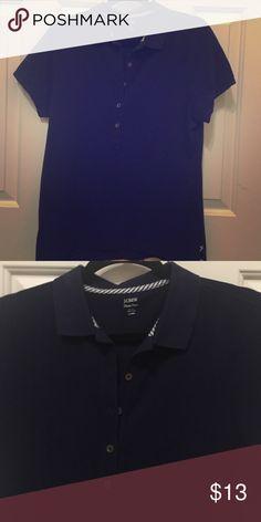 J.Crew Classic Pique Navy Blue Polo Reposh. Never worn. Women's. J. Crew Tops Tees - Short Sleeve