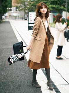 best mix casual and modest outfits for winter fashion 50 Japanese Winter Fashion, Japanese Street Fashion, Winter Outfits Women, Casual Winter Outfits, Business Casual Outfits, Business Fashion, Japan Outfit Winter, Modest Outfits, Chic Outfits