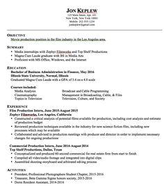 Movie resume