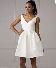 Priscilla of Boston ivory dress, size 2, $200