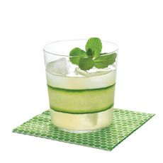 Cucumber Mint Gimlet (add a splash of mango nectar instead of simple syrup for a Bartaco-style Port Chester Reviver)