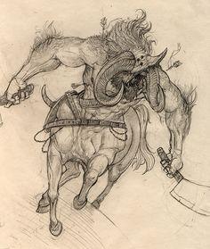 Sketchbook of Damien Mammoliti