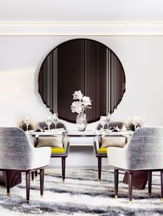 #moderndesign #interiordesign #diningroomdesign luxury homes, modern interior design, interior design inspiration . Visitwww.memoir.pt
