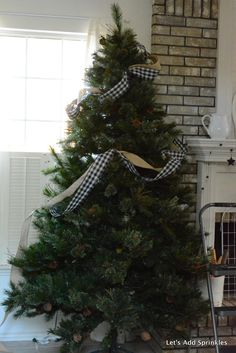 Let's Add Sprinkles: Ribbon In The Christmas Tree